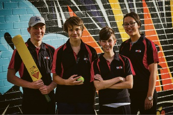 South Perth Youth Network volunteer Tika Chambers (16); South Perth Youth Network volunteers Jacob Mellor (16), Ryan Wreford (15) Jordan Fisker (12), Tika Chambers (16)