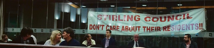 Demonstrators against development ejected from Stirling council meeting