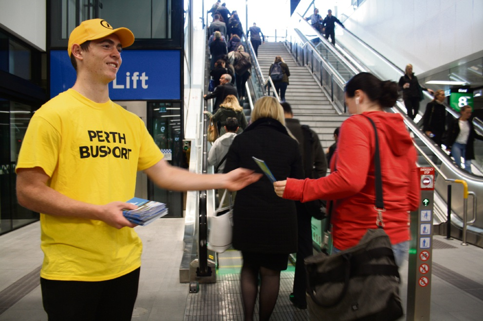 Confusion reigns at Perth Busport Opening but PTA says commuters will get used to new facility