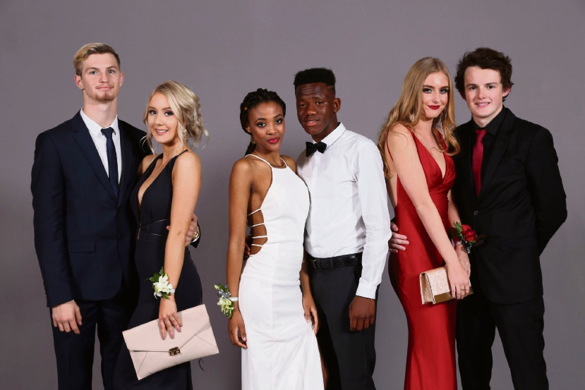 Kyle Buddridge, Winona Miller, Mofenyi Mabala, Mark Fefey, Chloe Moore and Alex Reid.