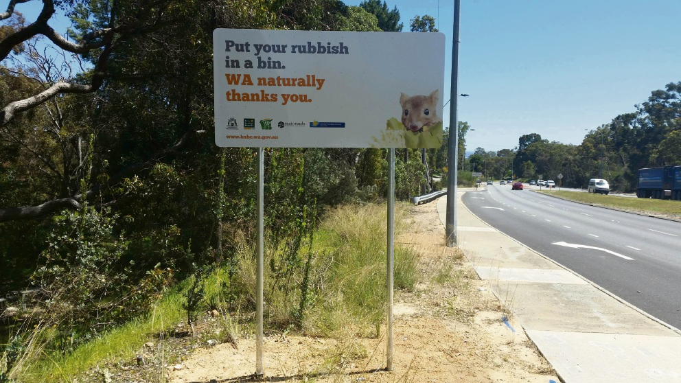 Great Eastern Hwy gets with sign of the times