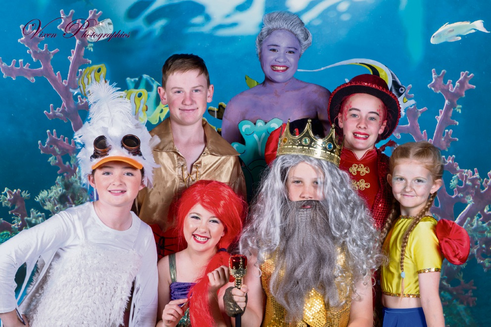 Tapping Primary School students are preparing to stage The Little Mermaid.
