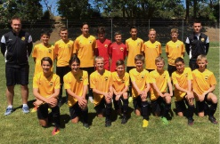The successful WA under-13 squad.