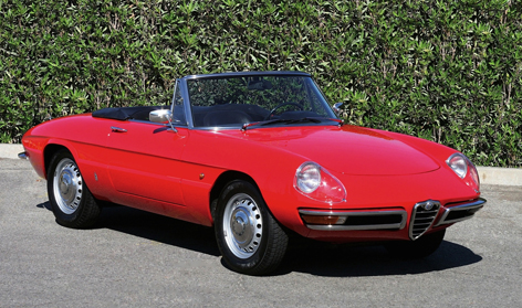 Alfa Romeo's 105 Spider, aka Duetto, celebrates its 50th birthday this year.