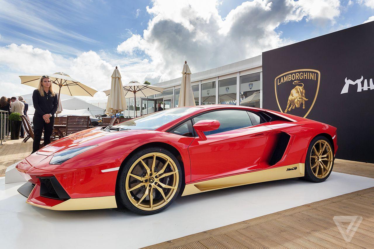 A Lambo Aventador Miura like this one will be at the Italian Car Day on November 13.