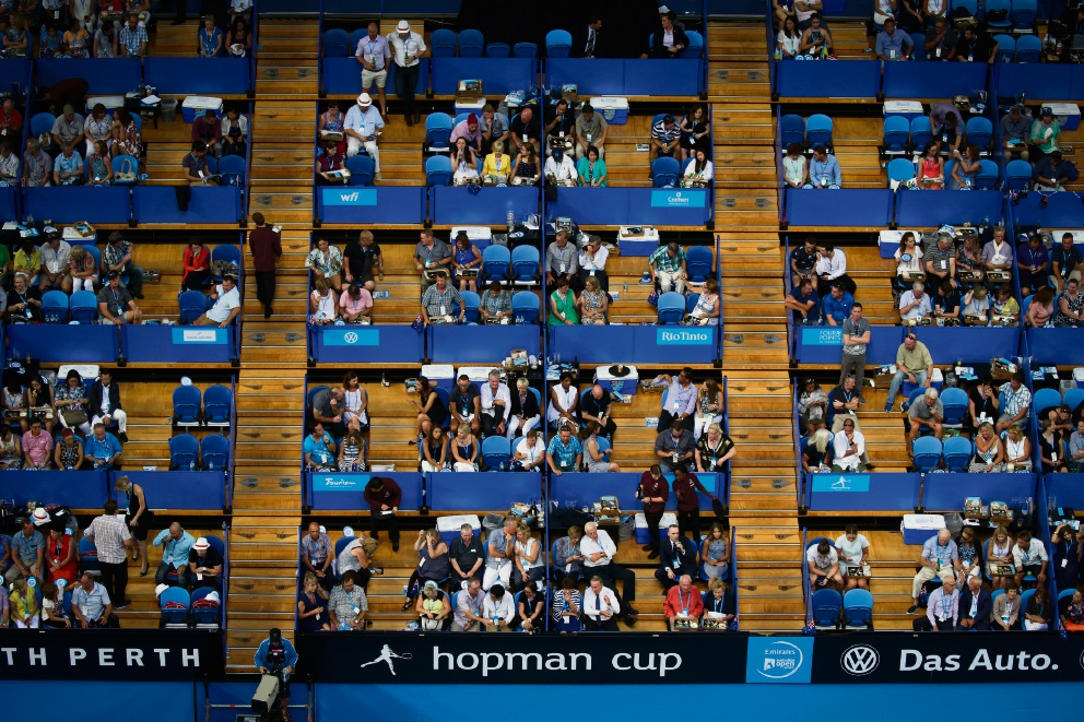 The City's interpretation of councillors' entitlements to Hopman Cup entertainment has been disputed.  Picture: Andrew Ritchie  d461033
