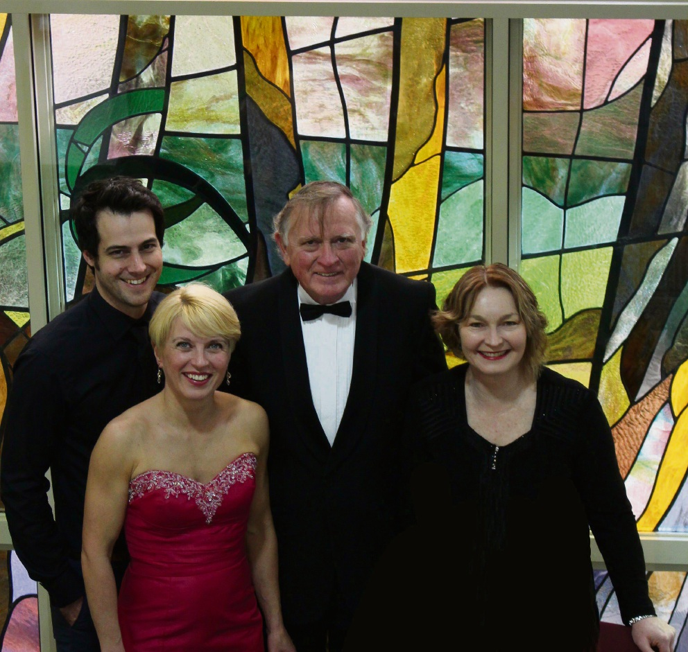 Jeremy Ryan, Ileana Otto-Johansen, John Milton and |Christina Trus-Browning will perform at the Opera in the Park.