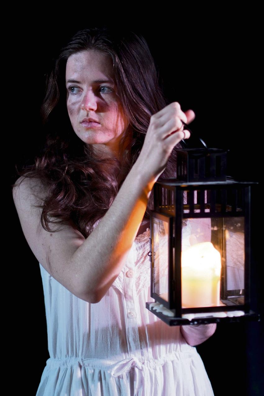 Ellenbrook actor Courtney Turner as The Little Match Girl.