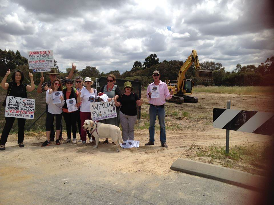 Bayswater Mayor 'disappointed' at unapproved works at Skipper's Row subdivision