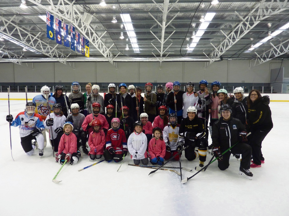World Girls' Ice Hockey Weekend contributors.