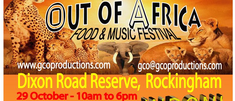 Out of Africa Festival to hit Rockingham this Saturday