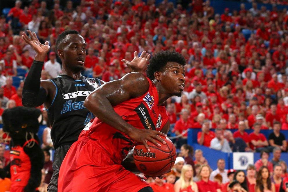 Casey Prather in action for the Wildcats. Picture: Paul Kane, Getty Images.