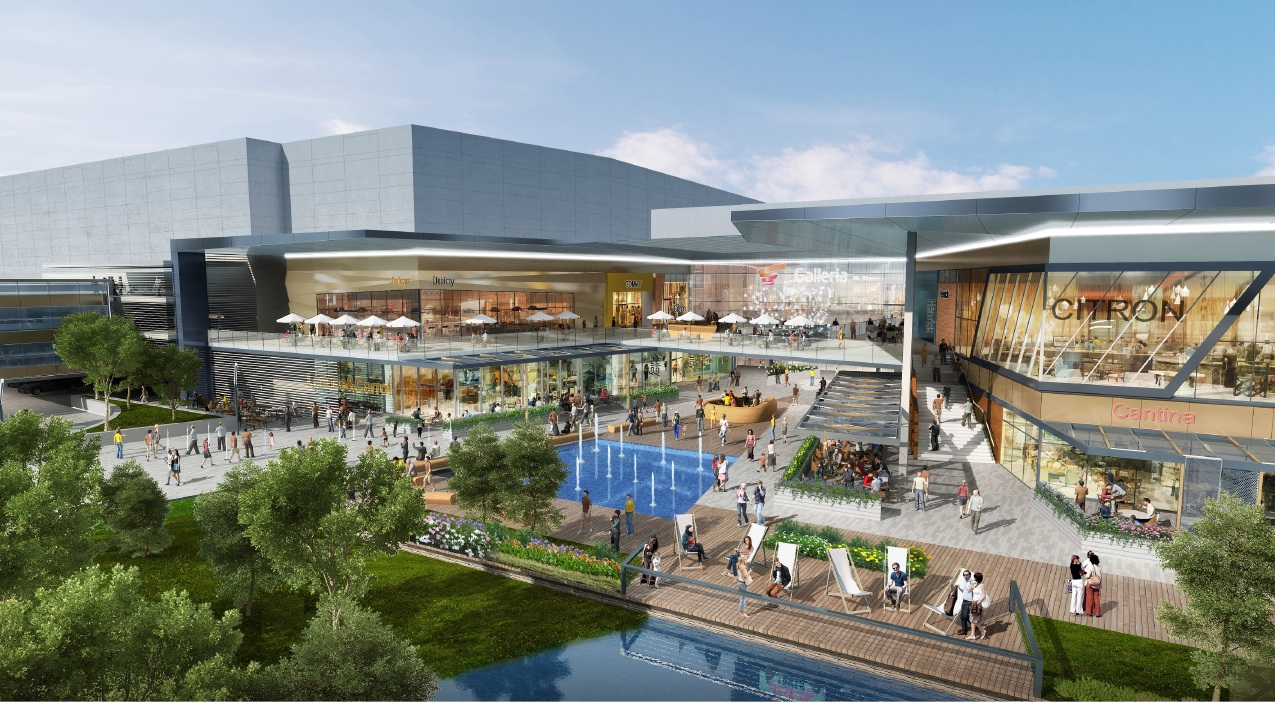 An artist's impression of the redeveloped Morley Galleria.