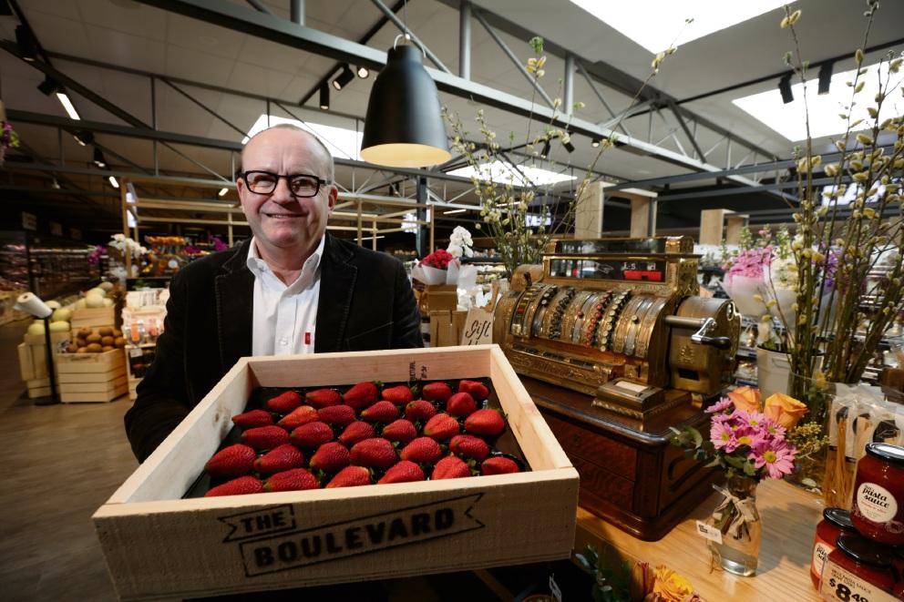 Antique Boans cash register caps new The Boulevard IGA