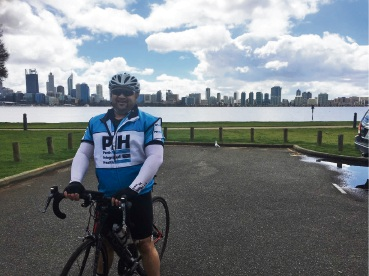 Walter Bonnet will join 120 riders to raise funds and awareness for prostate cancer.