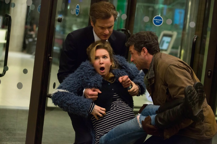 Colin Firth, Renée Zellweger and Patrick Dempsey.