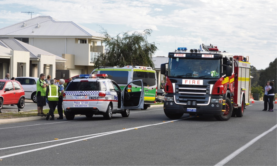 Child struck by car in Woodvale
