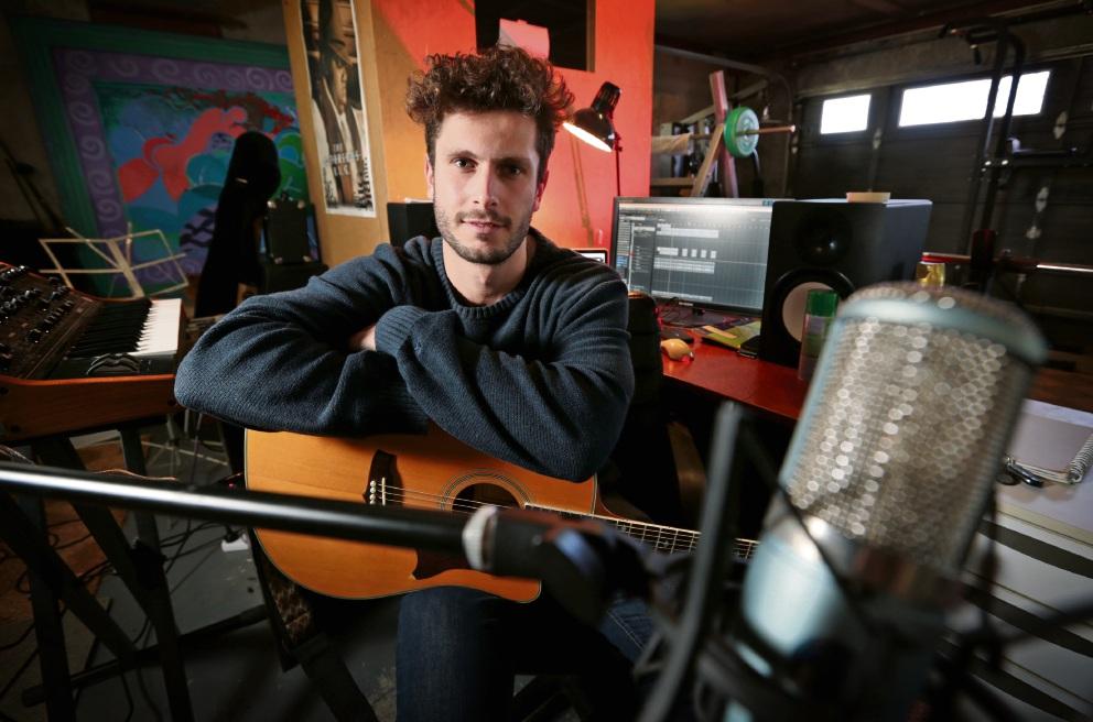 Bassendean musician Luke August.