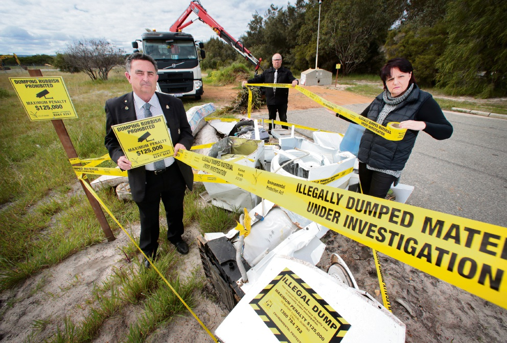 Huge fines for illegal rubbish dumping under new City of Swan regulations