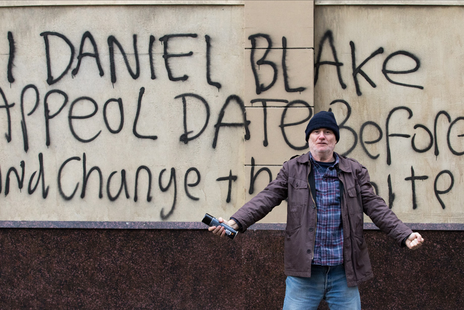 Still from the film I, Daniel Blake.