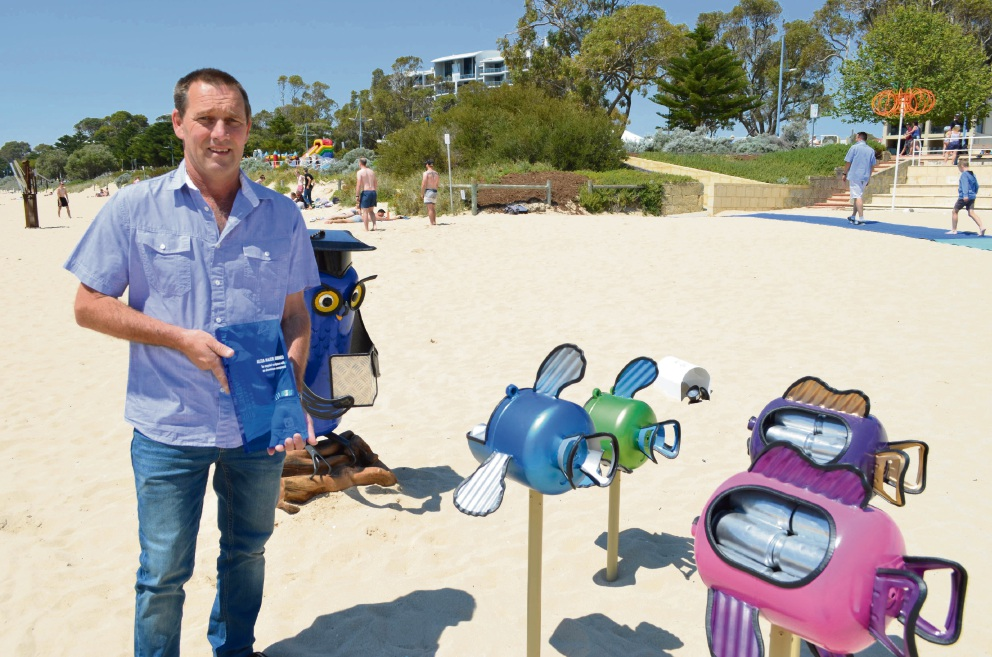 Castaways: finishing touches put on sculptures ahead of opening tomorrow