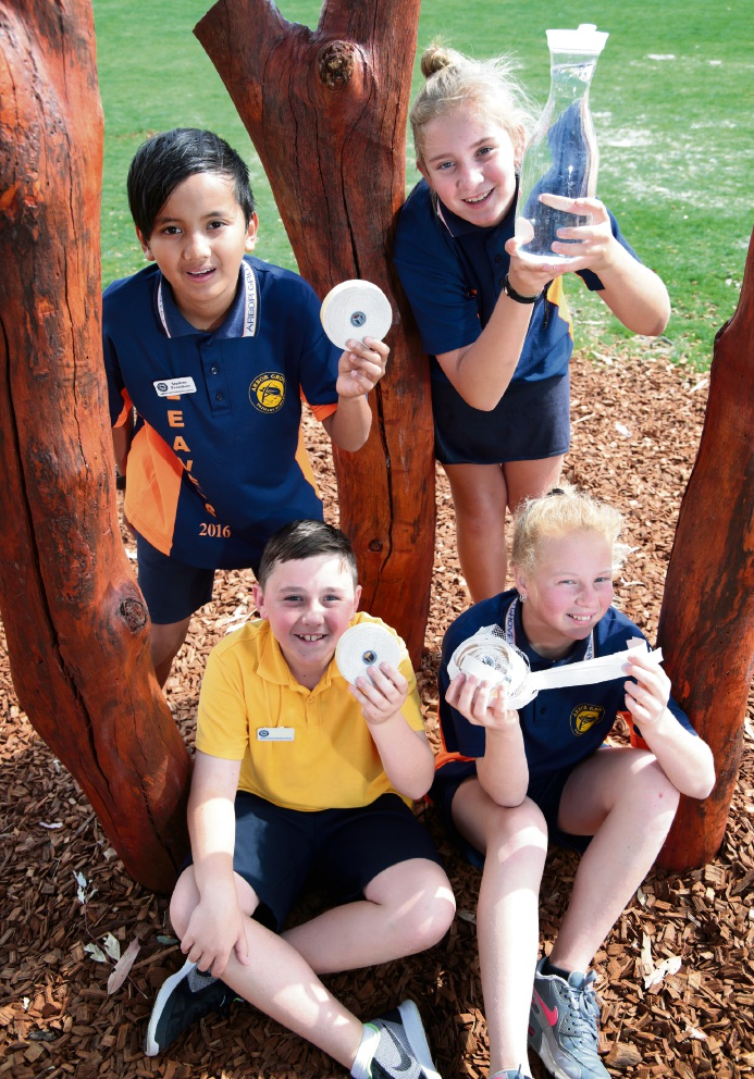 Arbor Grove Primary students tap into waterwise message