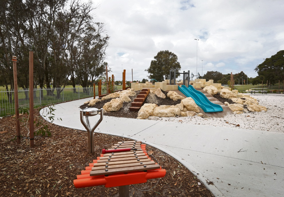 Warradale Park playground.