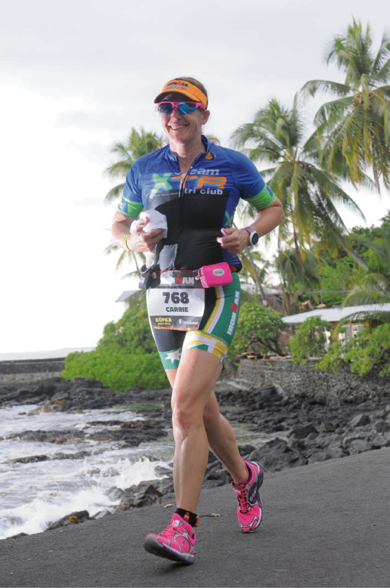 Carrie Prosser's iron will and determination pays off