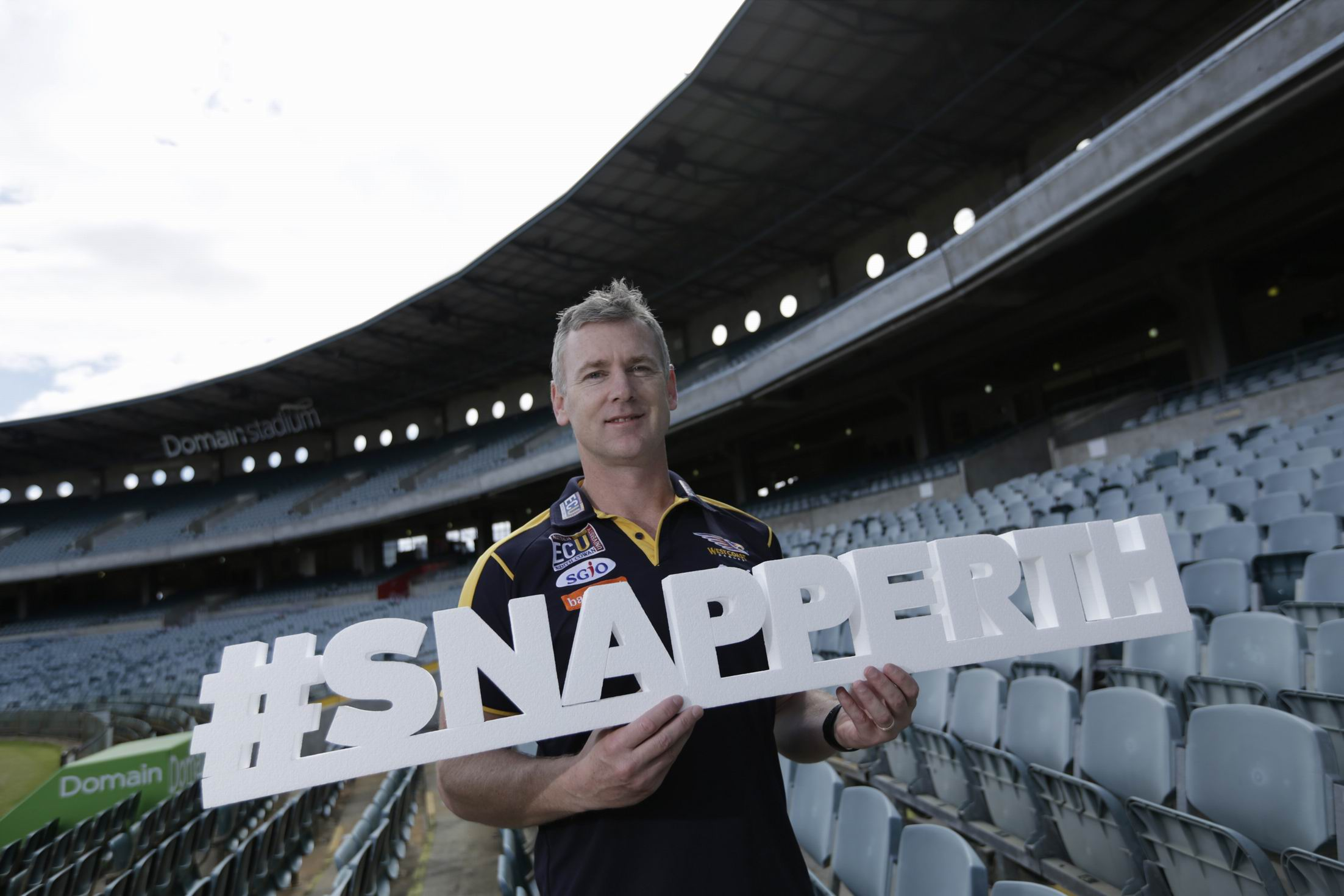 West |Coast Eagles coach Adam Simpson discusses what he loves as part #SnapPerth 2016.