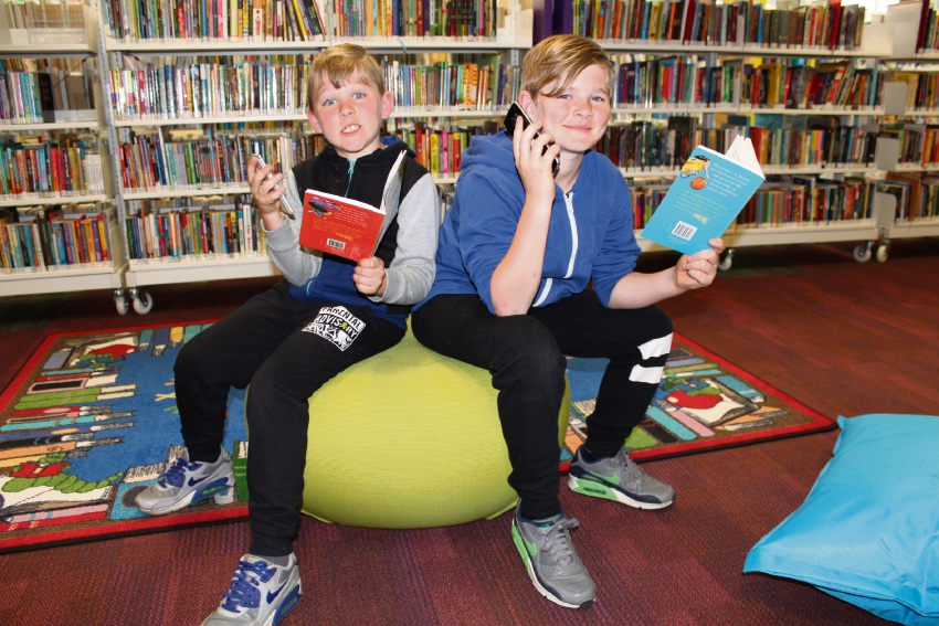 Calista PS brothers benefit from buddy reading