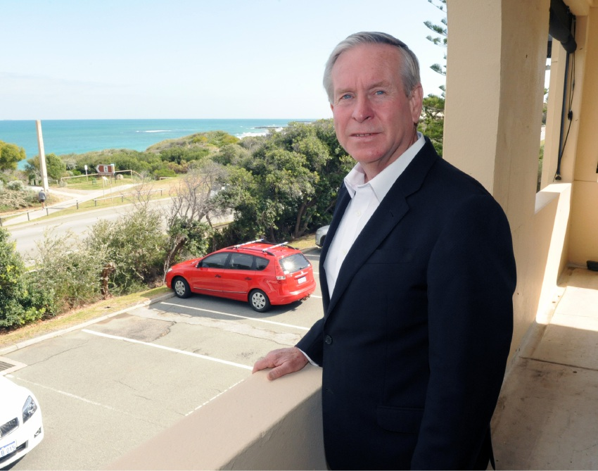 Premier Colin Barnett. Photo: Jon Bassett