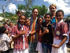 Funding through the New Colombo Plan will help support Notre Dame programs in the Indo-Pacific region, such as the service-learning immersion in Timor-Leste.