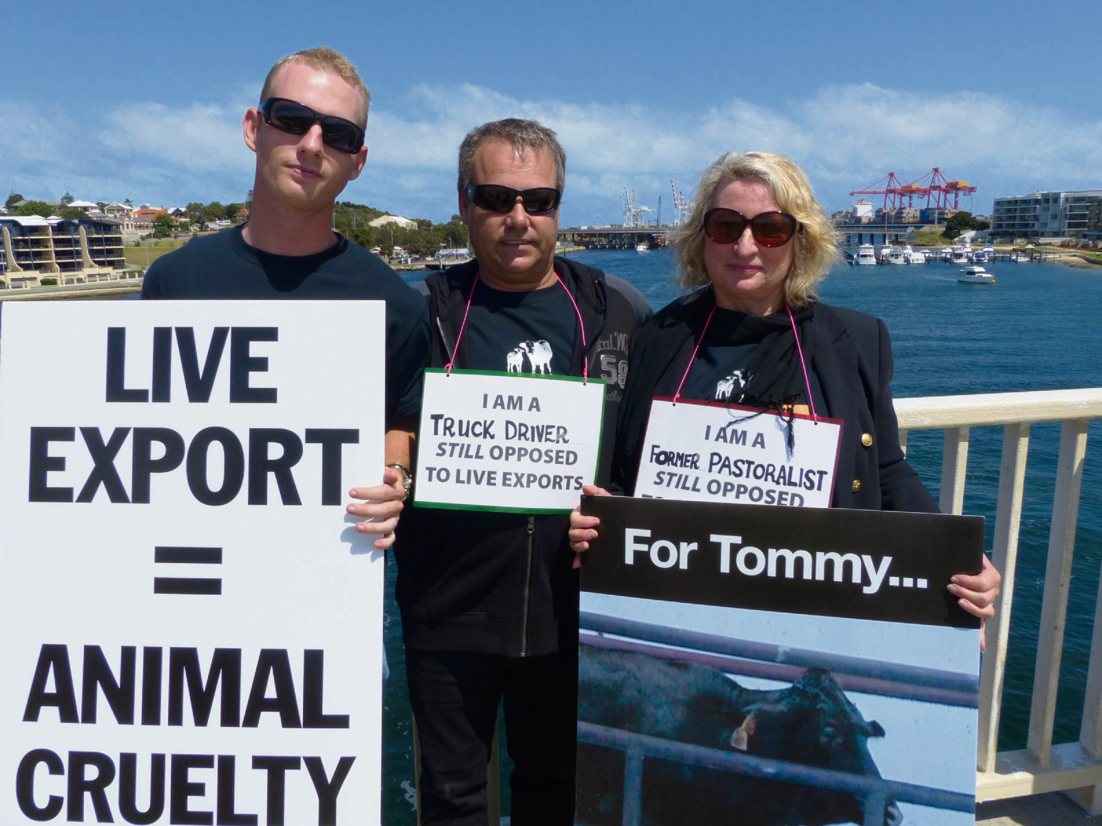 Fremantle protest against live animal exports this Sunday