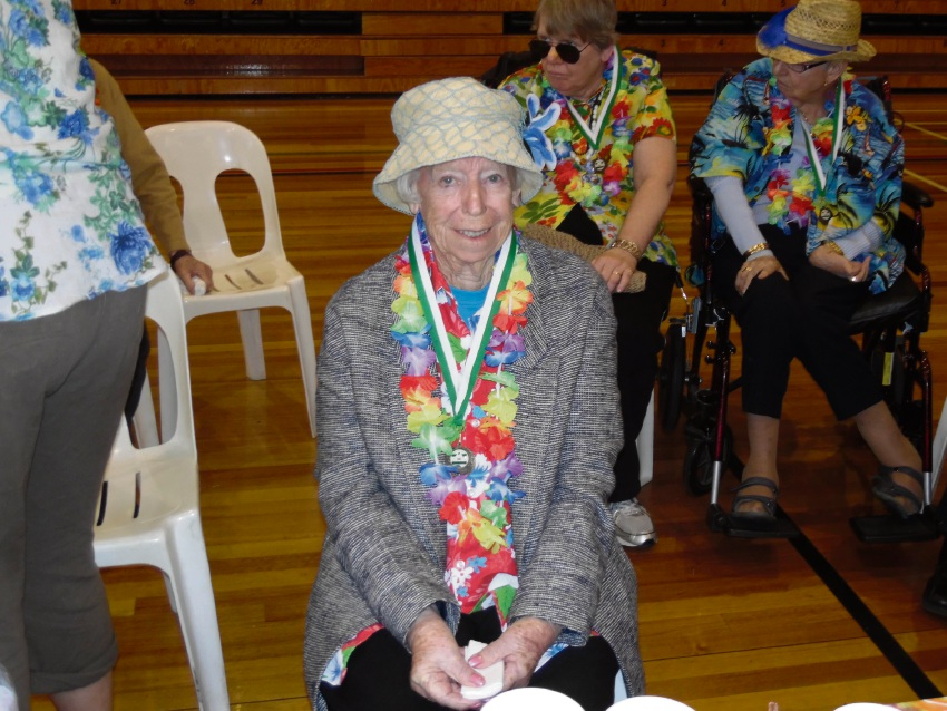 Bethanie Beachside residents voted best dressed at Aged Care Games