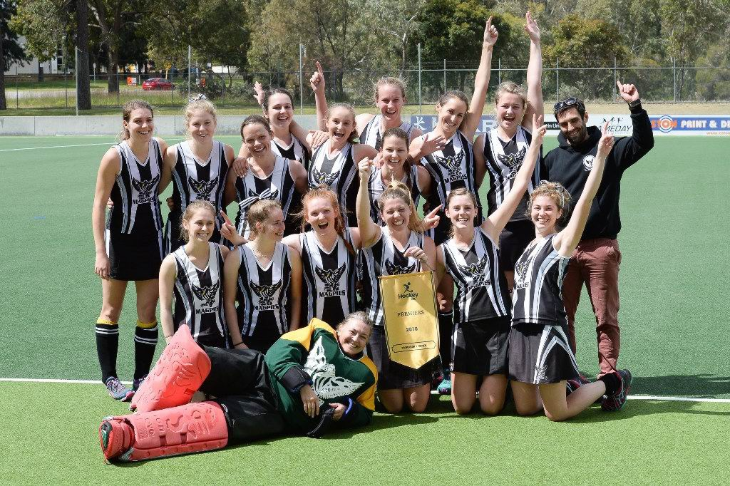 Fremantle Hockey Club's Rani Flynn picks perfect game to score her first goal