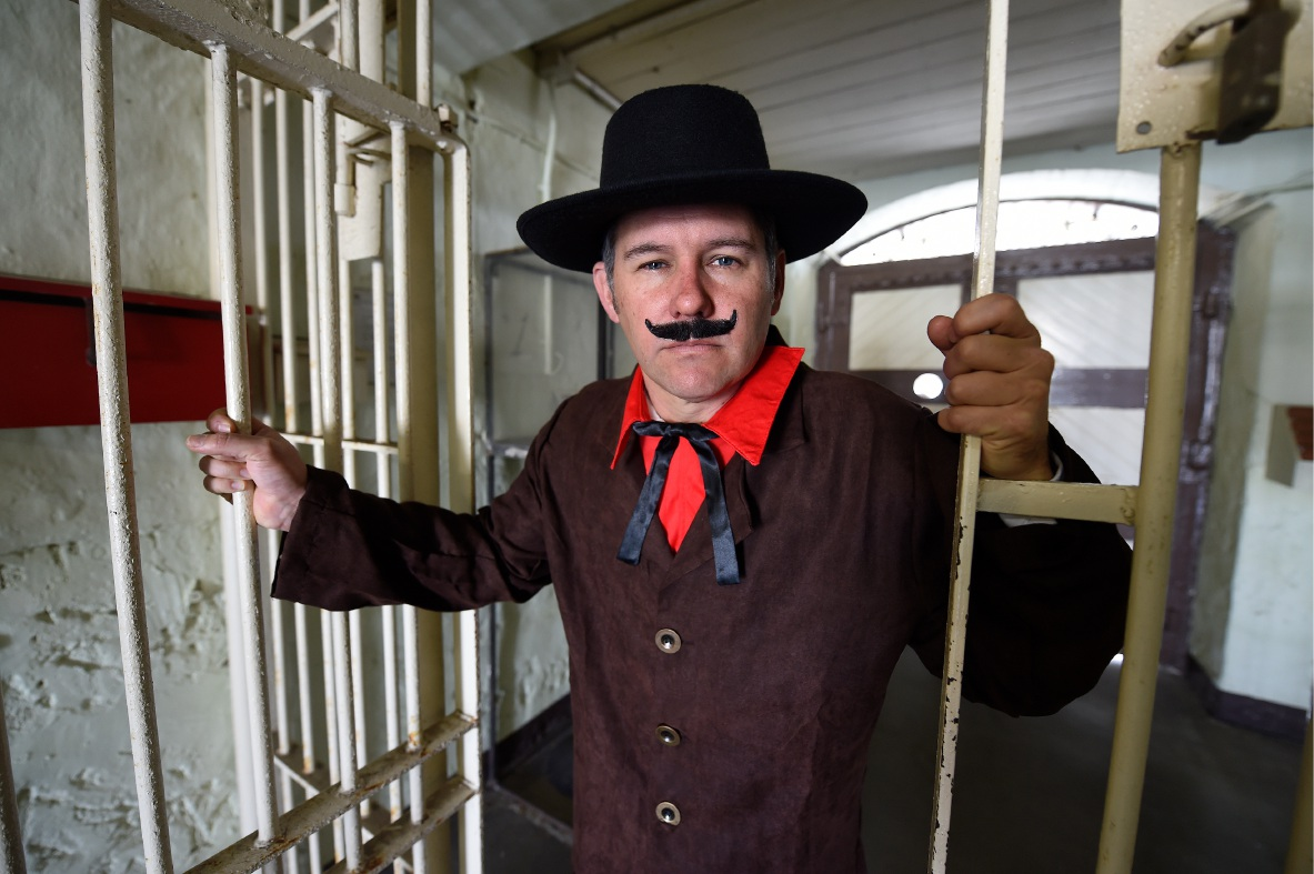 Fremantle Mayor Brad Pettitt will play a different type of mayor at the upcoming Convicts for a Cause fundraiser at Fremantle Prison. Picture: Jon Hewson.