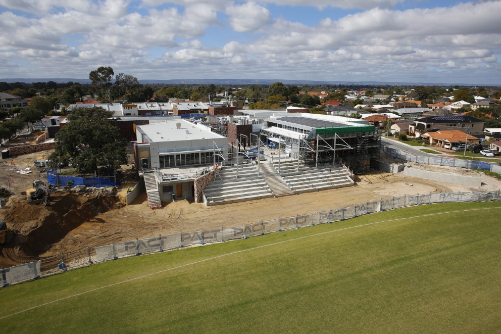 Construction of the Manning Community Hub is expected to finish at the end of this year.