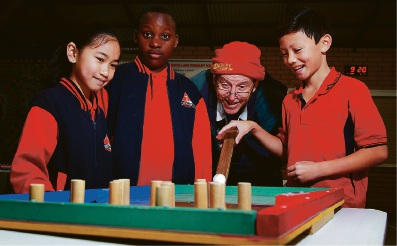 South Lake Primary students get mathematical