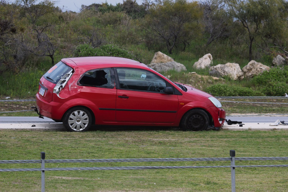 The Ford Fiesta on Marmion Avenue.
