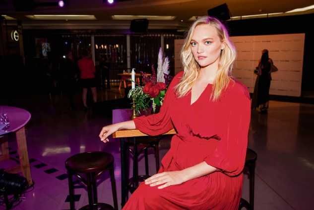 Model Gemma Ward at the VIP Spring-Summer Fashion Launch at Karrinyup Shopping Centre. Picture: Alan Chau.