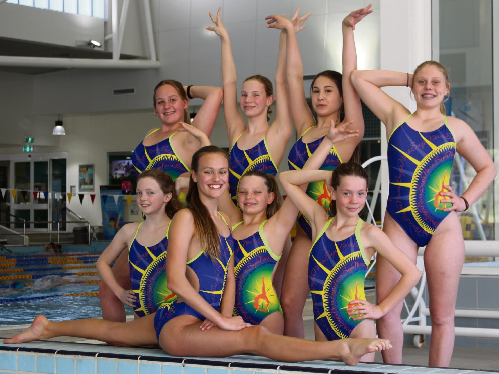 SupaNova Synchronised Swimming Club will send two junior teams to the New Zealand National Championships later this month.