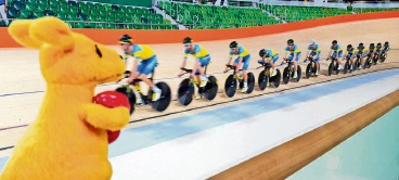 Olympic cyclist Melissa Hoskins thrilled with upgrades for Midvale SpeedDome