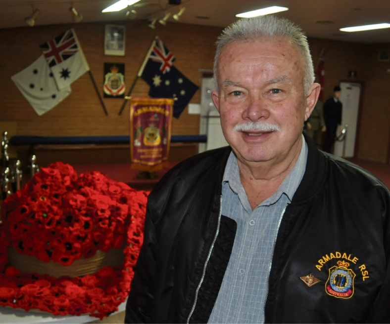 Armadale Vietnam Vet Hans Van de Velde will be at the Battle of Long Tan ceremony on August 18.