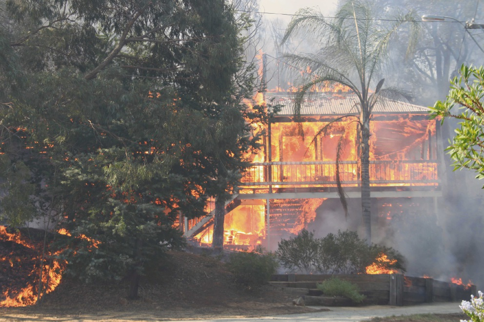 Kelmscott resident Max Margetts is concerned that high fuel loads could lead to a repeat of the devastating 2011 Kelmscott and Roleystone bushfires.