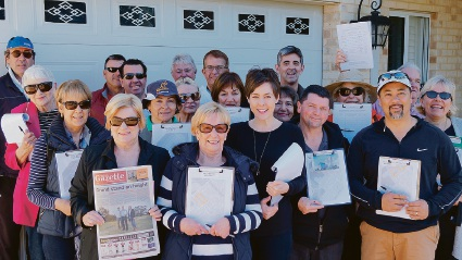 Ascot Waters residents collected almost 300 signatures to call a special elector's meeting at the City of Belmont next week.