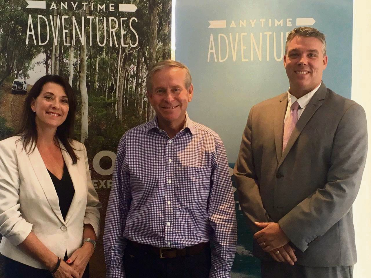 Premier Colin Barnett held his first official meeting as Minister for Tourism with MAPTO chief executive Karen Priest and Chairman Leighton Yates.