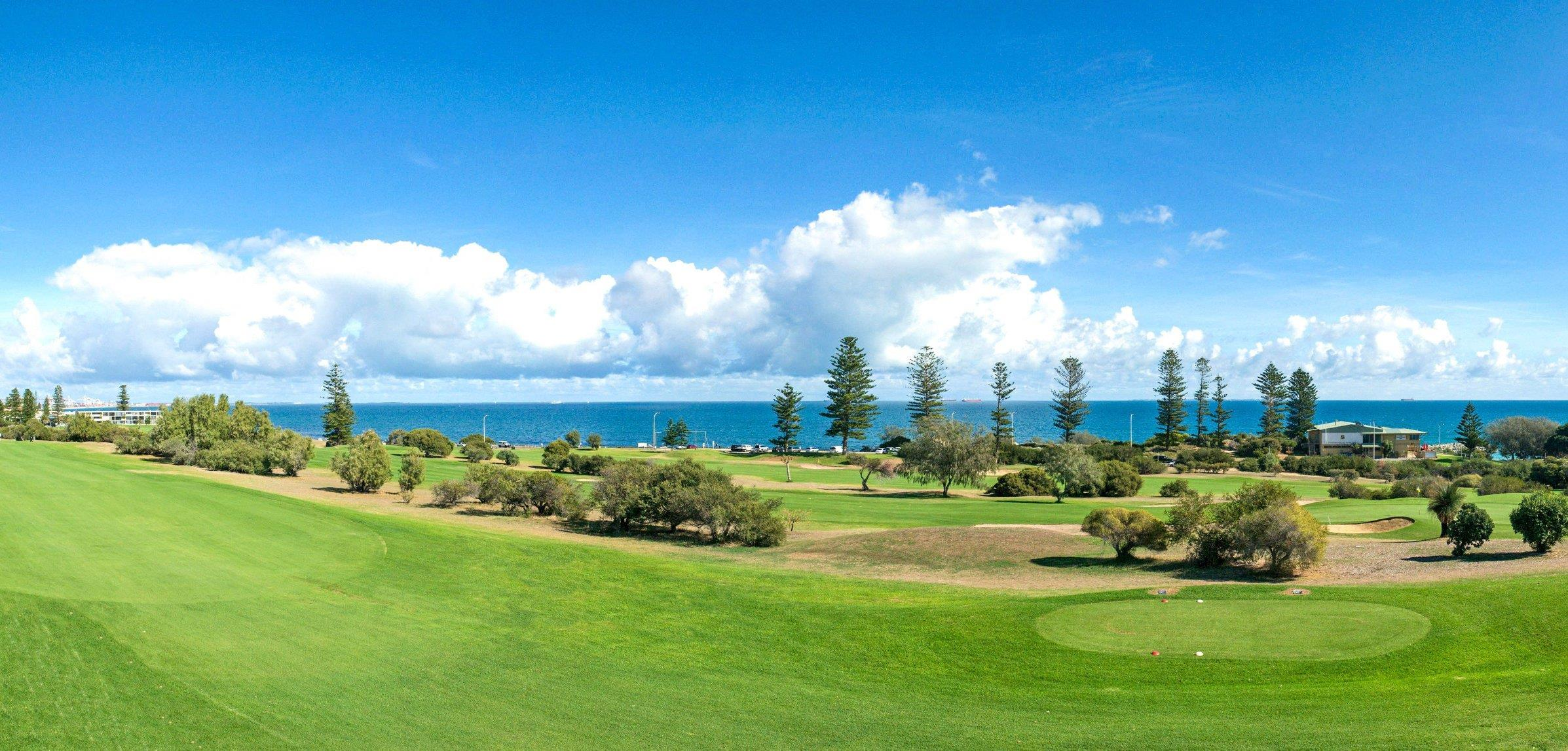 Family open day at Sea View Golf Club in Cottesloe