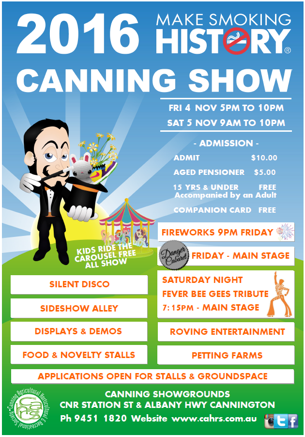 Canning Show on this weekend