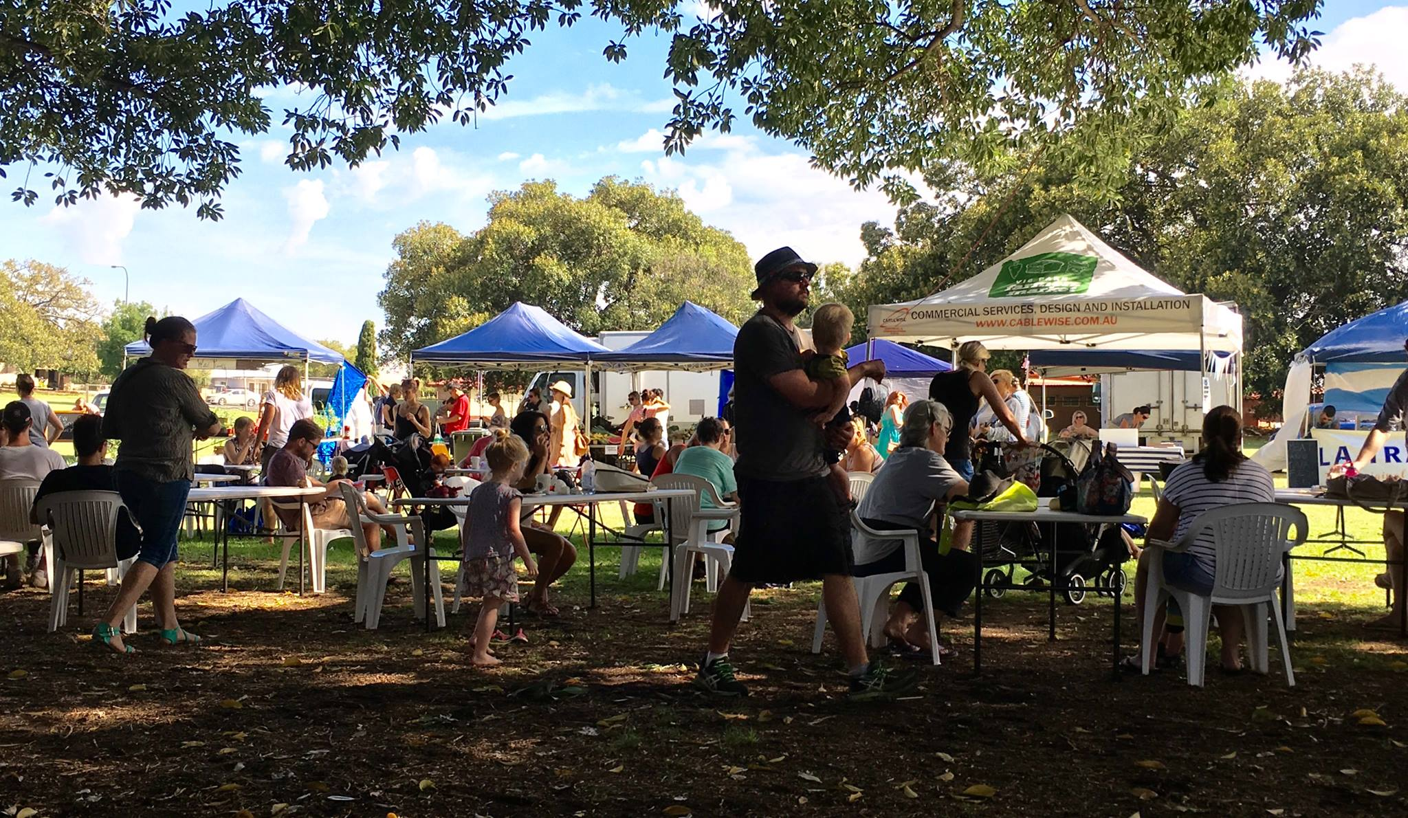 Vic Park Farmers Market on this Sunday