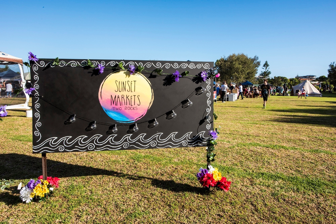 The Sunset Markets are back in Two Rocks to offer vintage wares, fashion, art and fun activities for children.